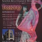 NADIA BELLYDANCE WORKSHOP クリスマススペシャル! 12/24(Sun)