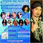 Nourah出演情報 Istanbul nights~セルカン来日公演&WS 2018