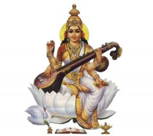 goddess-saraswati-sitting-over-lotus-flower_1-1