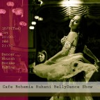 Cafe Bohemia Ruhani BellyDance Show 10/9(Tue)