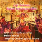 Cafe Bohemia Ruhani BellyDance Show 12/11(Tue)