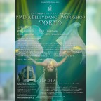 NADIA Bellydance Workshop in Tokyo 2018 12/23(Sun)
