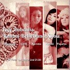 Cafe Bohemia Ruhani BellyDance Show 1/8(Tue)