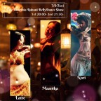 Cafe Bohemia Ruhani BellyDance Show 7/9(Tue)