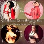 Cafe Bohemia Ruhani BellyDance Show 11/12(Tue)