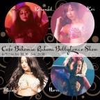 【開催延期】Cafe Bohemia Ruhani BellyDance Show 6/9(Tue)