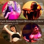 Cafe BOHEMIA Ruhani BellyDance Show 10/12(Mon)