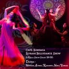 Cafe BOHEMIA Ruhani BellyDance Show 3/8(Mon)
